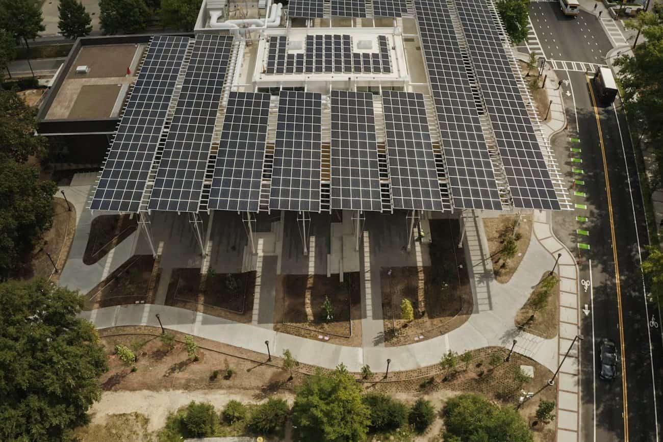 Kendeda Building Solar Panels